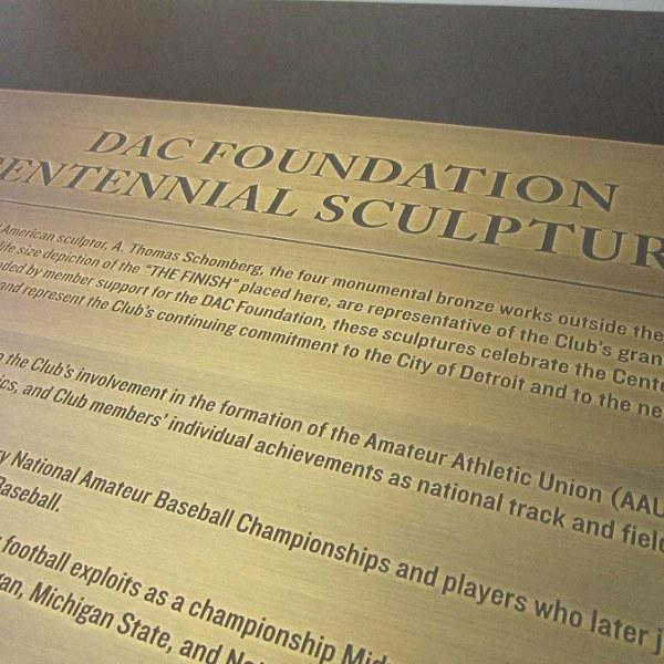 Custom Plaques - Memorial Plaques, Wall Plaques - Ideation Signs