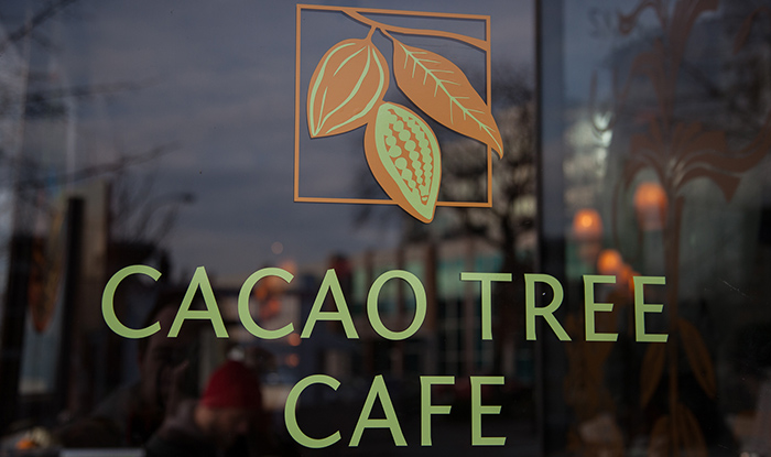 cacao tree cafe storefront