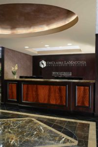reception sign business signage ideas for branded environment