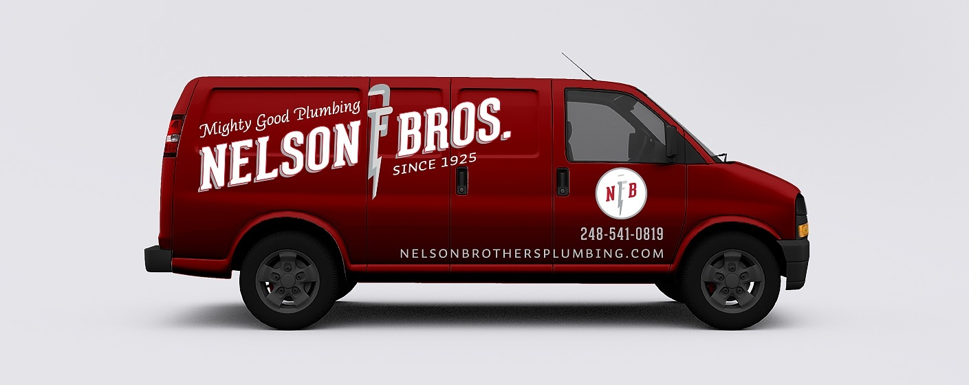 Nelson Brothers Fresh Brand Ideny For Plumbing Company Elished In 1925