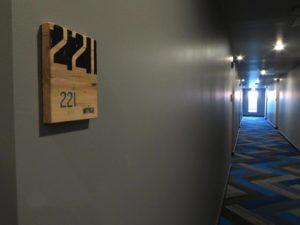ADA compliant room signs