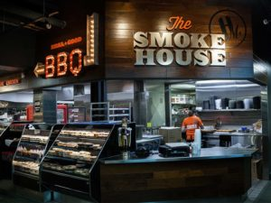 branding and signs for the smoke house in royal oak