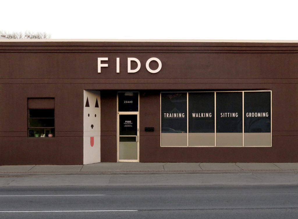 fido facade sign ideation signs royal oak michigan