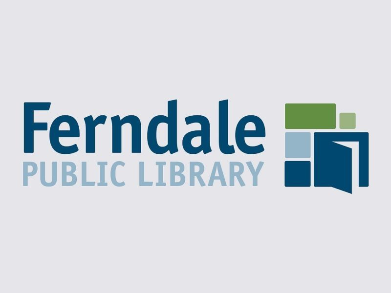 ferndale library sign by ideation