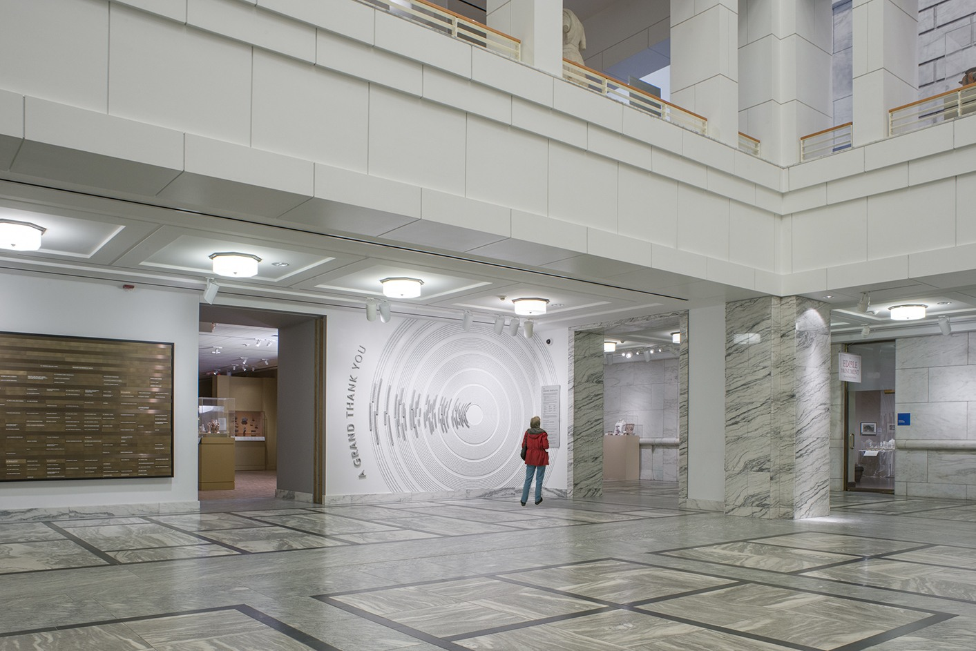 Ideation helped design a donor wall for the Detroit Institute of Art