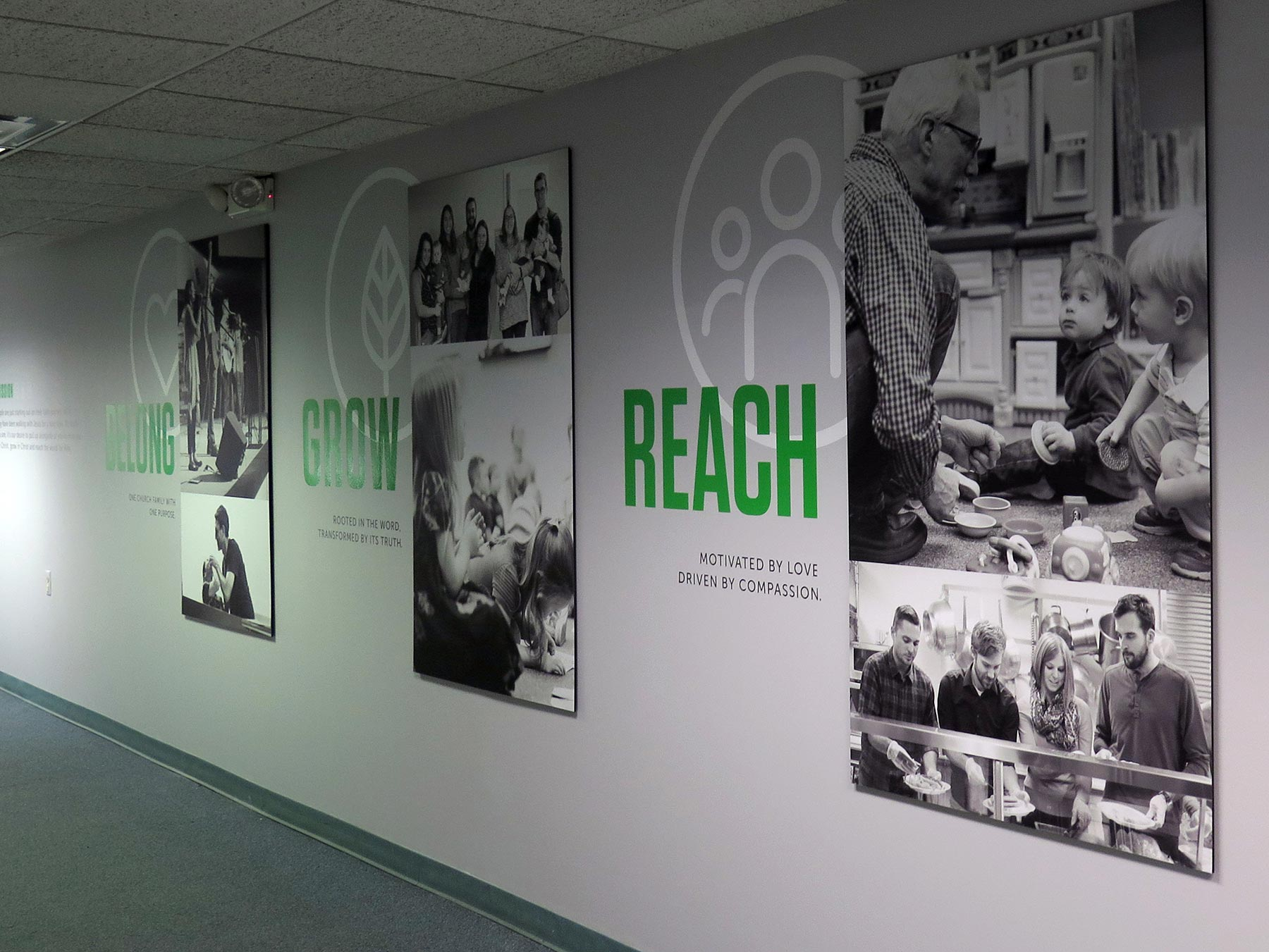 custom signage by Ideation Signs