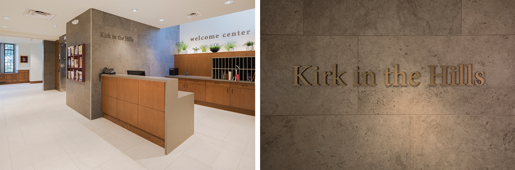 wayfinding signs by Ideation Signs Royal Oak MI