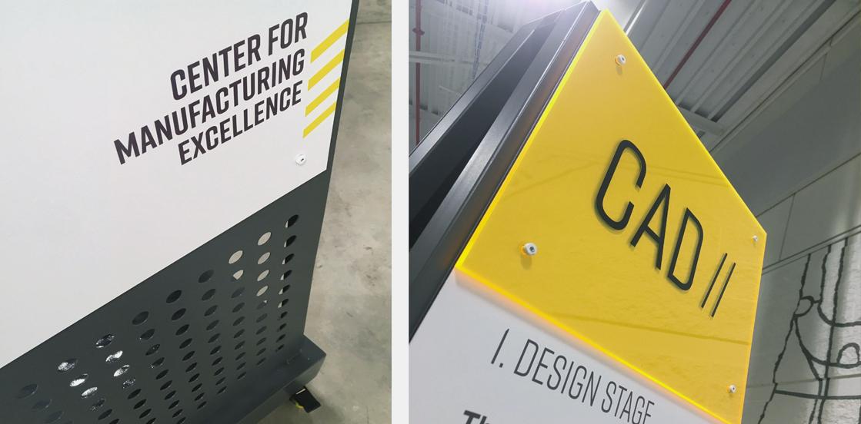 custom signs Ideation Signs Royal Oak Michigan