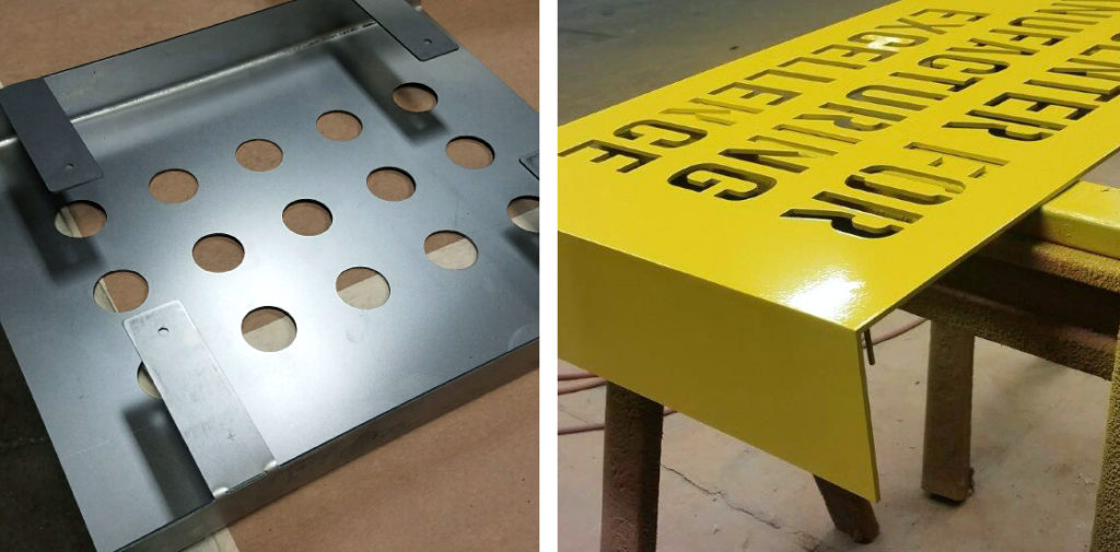 sign fabrication Ideation Signs Royal Oak MI